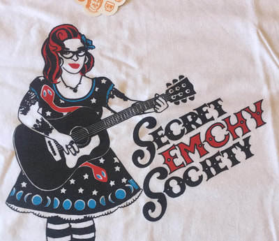 Rockabilly Secret Emchy Society Shirt