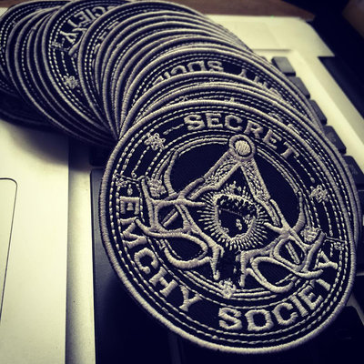Classic Secret Emchy Society Logo - Embroidered Patches